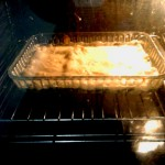Step 1 - in the oven