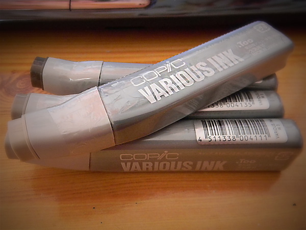 Copic charges